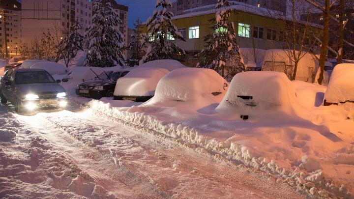 Порывистый ветер и мокрый снег: МЧС Башкирии объявило штормовое предупреждение