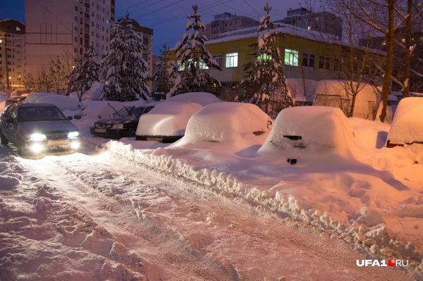 Неделя начнется с обильного снегопада