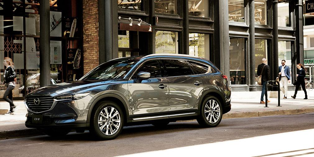 Mazda раскрыла внешность огромногоCX-9 (фото)