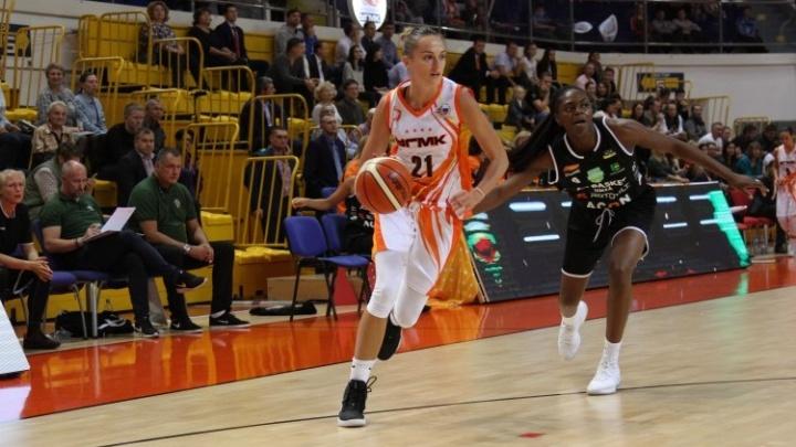 Екатеринбургские «лисицы» разгромили шведок на Кубке УГМК по баскетболу