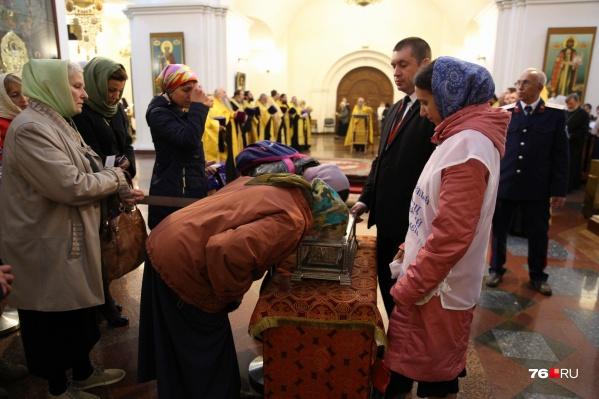 ДесницуСпиридона Тримифунтского увезут из Ярославля в 8 часов утра