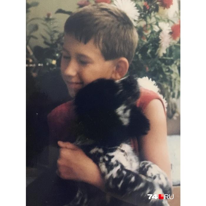 Рэдька и я (Артем Краснов. —  Прим. ред. ) Снимок сделан в начале 90-х