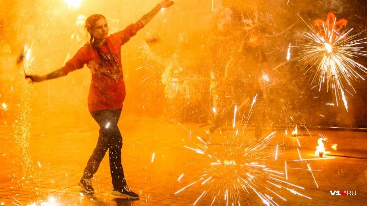В парке перед «Волгоград Ареной» зажгут огни осеннего фестиваля