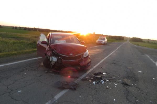 ДТП произошло в Карталинском районе в ночь на 14 июля