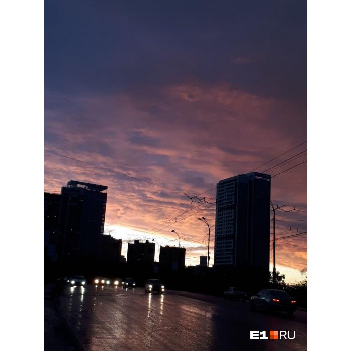 Закат на Уктусе