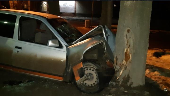 «Ехал без прав и врезался в дерево»: четверо человек ранены в аварии под Волгоградом