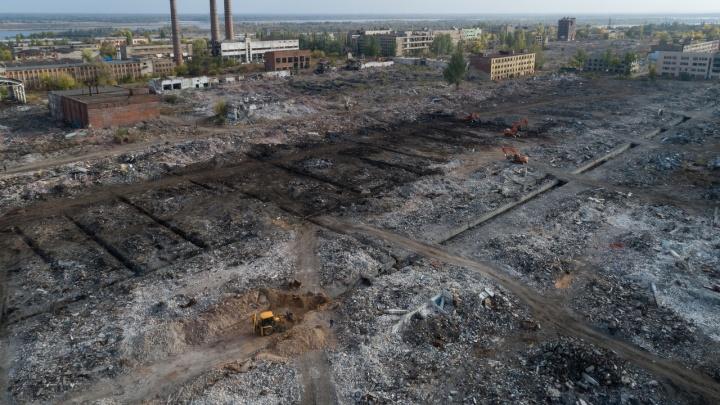 Руины прошлого: в Волгограде сняли с высоты остатки Тракторного завода