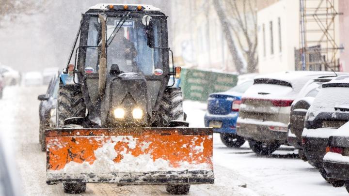 Грязный снег с улиц Ярославля будут складировать в городе