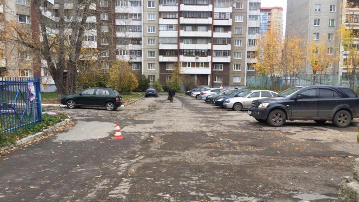 ГИБДД просит помочь найти водителя Opel, который сбил девочку на Готвальда и скрылся