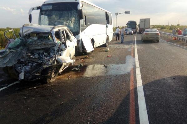 Последствия аварии оказались фатальными для невиновной стороны