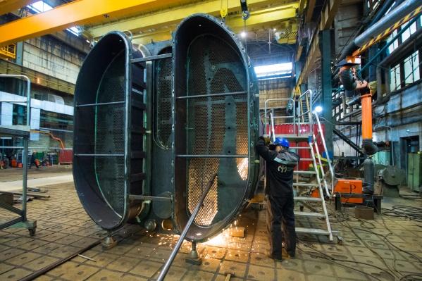 Уральский турбинный завод — один из крупнейших производителей паровых турбин