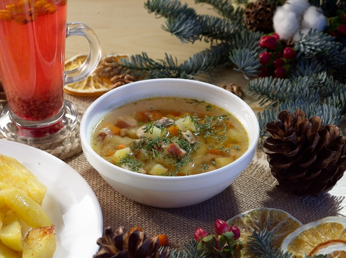Декабрь, январь и суп