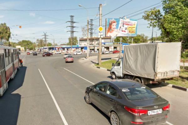 После реконструкции на улицу сковали пробки