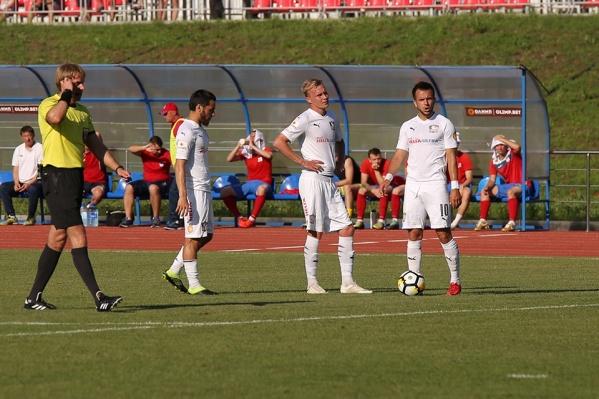 О намерении играть на «Ростов Арене» представители ФК «Чайка» заявили в конце июня