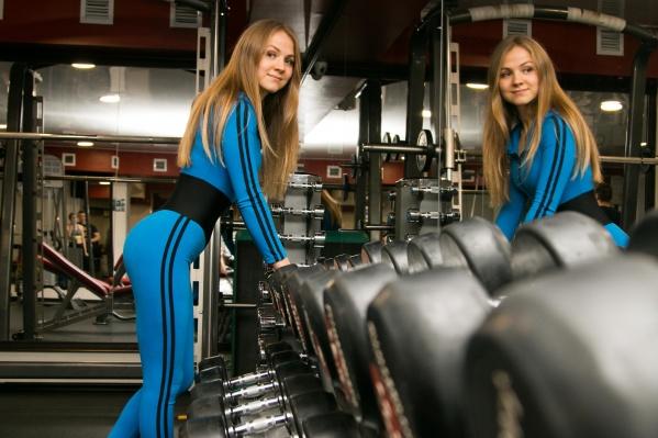 Елена влюбилась в спорт около семи лет назад