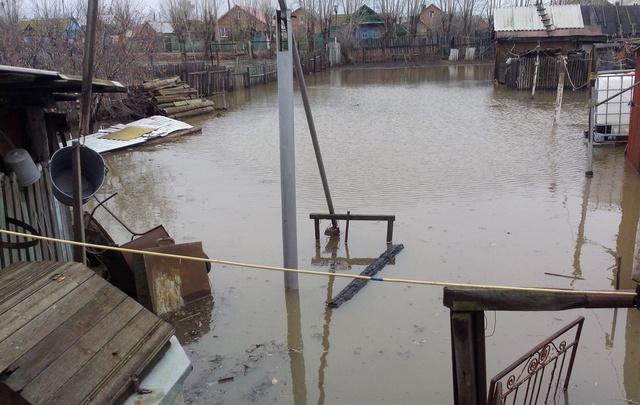 В Башкирии улицы города уходят под воду
