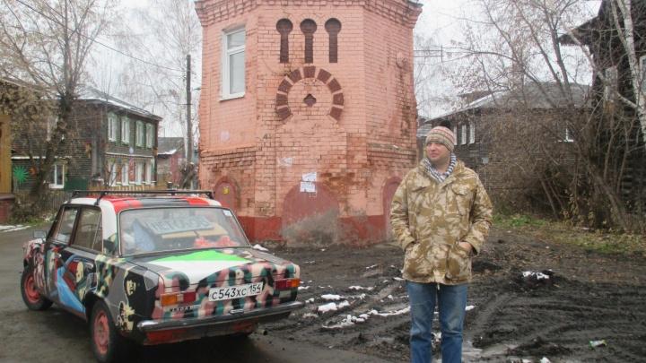 В Новосибирске угнали расписные «Жигули» Сергея «Паука» Троицкого