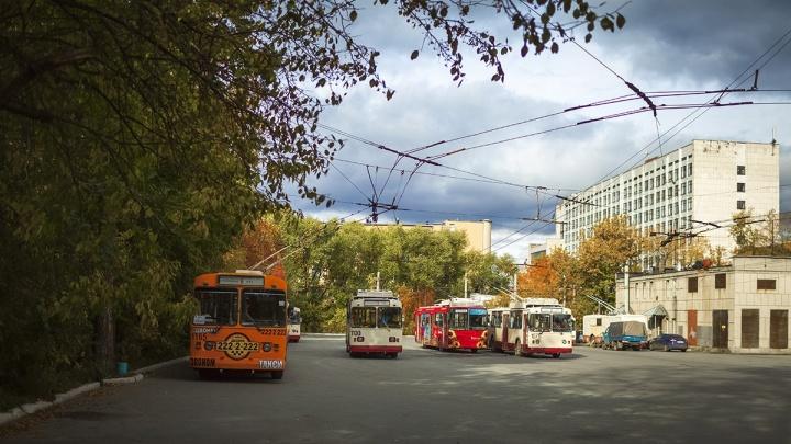 В центре Челябинска на все выходные закроют движение троллейбусов