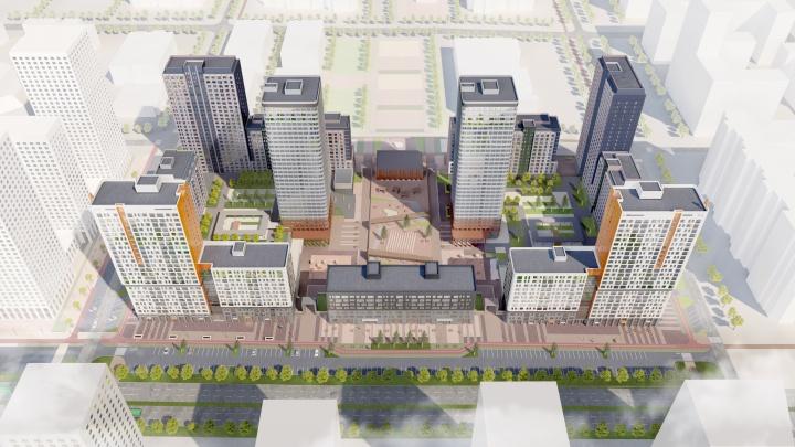 «Атомстройкомплекс» построит на Московской 33-этажные дома на месте частного сектора