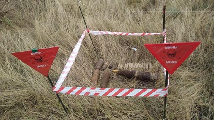 При строительстве южного обхода Волгограда нашли военные снаряды