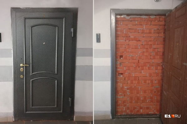 Мастер в сопровождении приставов долго вскрывал дверь, но оказалось, что главным препятствием был совсем не замок