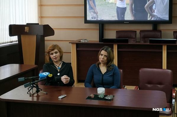 Наталия Рудая и Ксения Колобова рассказали о результатах раскопок в Чагырской пещере