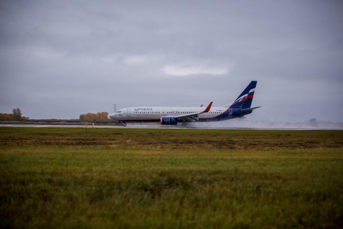 Плохая видимость на взлётно-посадочной полосе помешала «Боингу» сесть в Новокузнецке