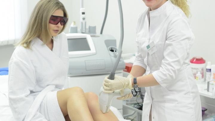 В клинике на Фрунзе удаляют нежелательные волосы за шесть процедур, основываясь на индексе меланина