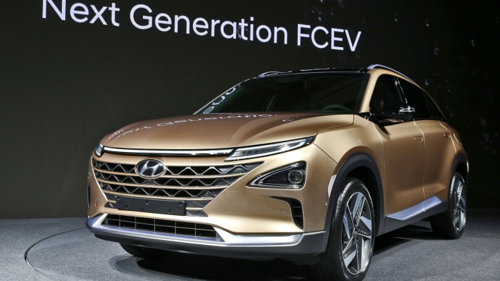Hyundai показала новый кроссовер на водороде (фото)