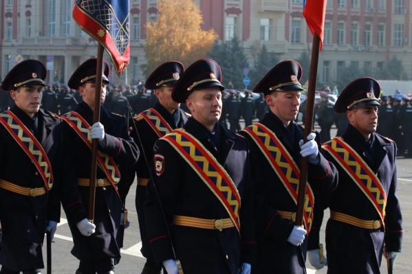 Парад полиции в донской столице проходит второй раз в истории нашего города