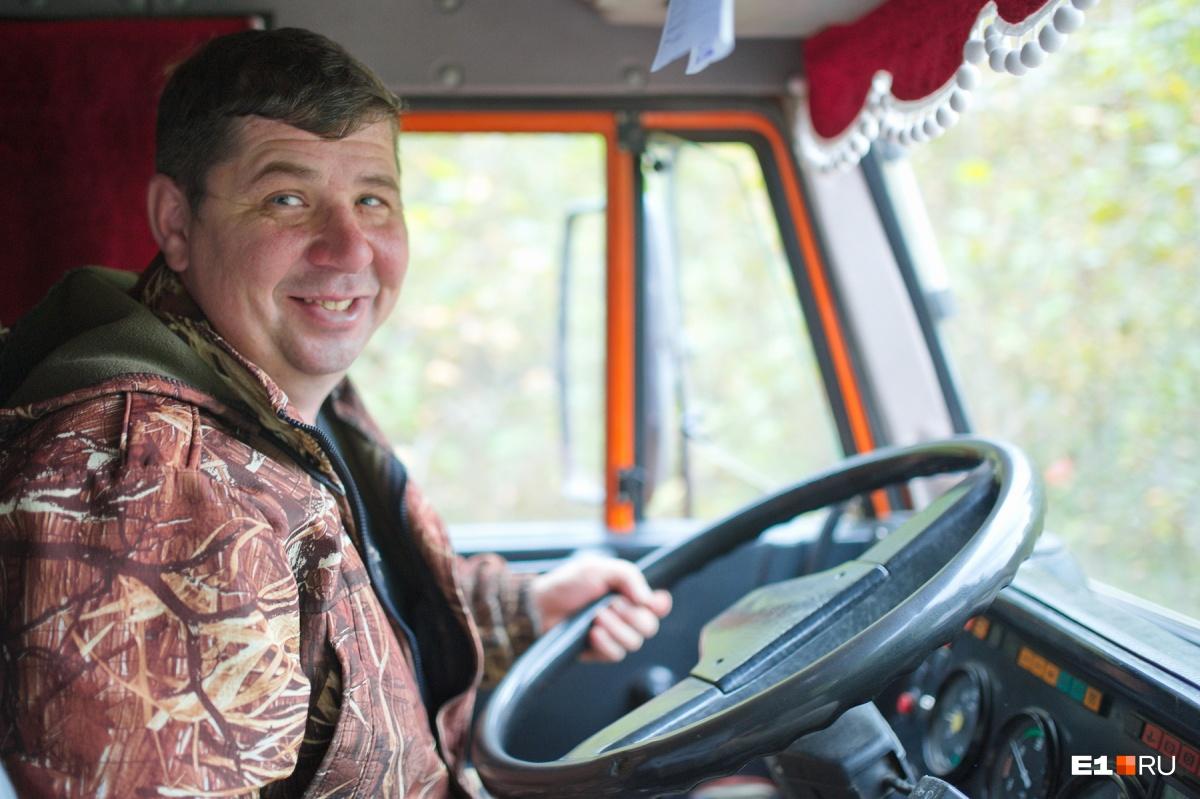 Наш водитель Денис