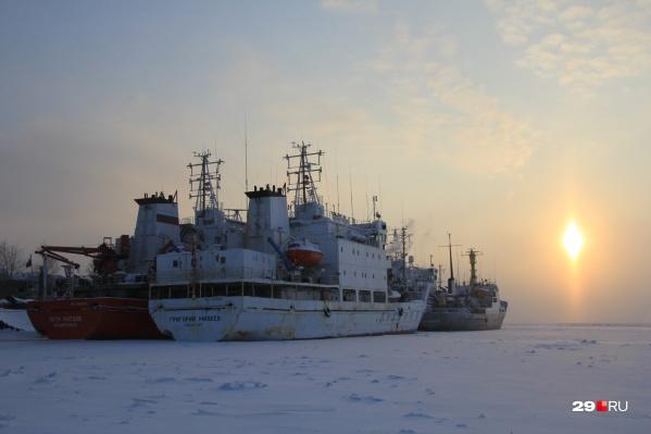 В Архангельске среднесуточная температура отклонится от показателя климатической нормы, который составляет -15ºC, на 7 и более градусов в сторону холода