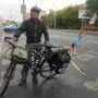 Во время кругосветного путешествия по миру велосипедист проехал через Курган