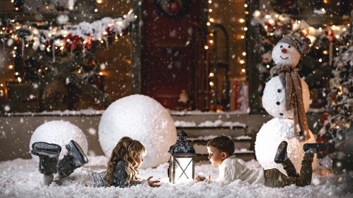 Одна из фотостудий города начала проводить фотосессии в тёплом снегу