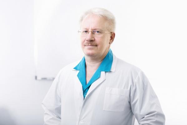 Профессор Сергей Васильевич Сидоров, доктор медицинских наук, заслуженный врач РФ