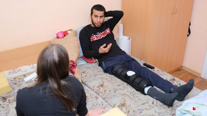 «Как будто меня облили горючей жидкостью»: студент из Ирака рассказал о происшествии на сплаве