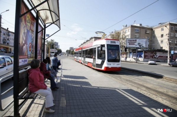 Современный трамвай сломался в первый же день работы в Челябинске