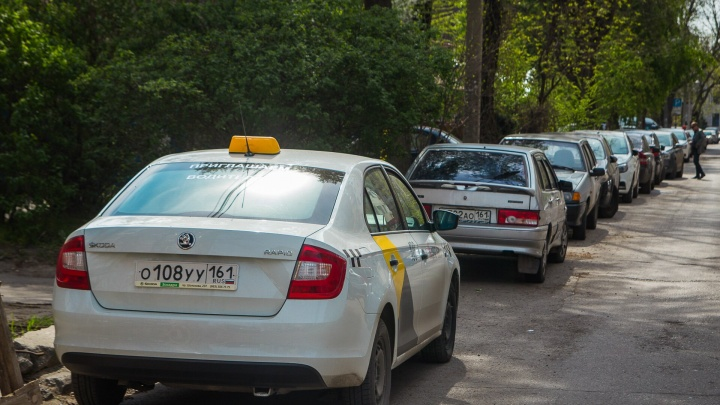 Ростовские таксисты подрались с жителями дома на Шолохова