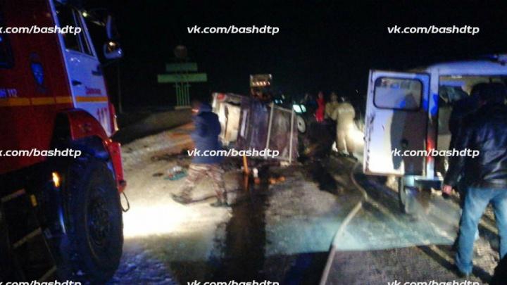 В Башкирии смертельная авария около Шингак-Куля унесла две жизни