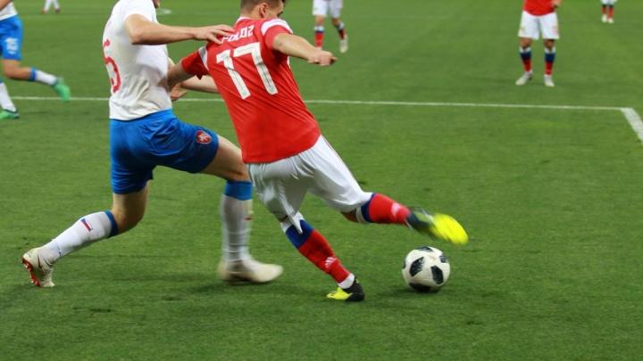 Космические 5:1: сборная Россия разгромила Чехию на стадионе «Ростов Арена»