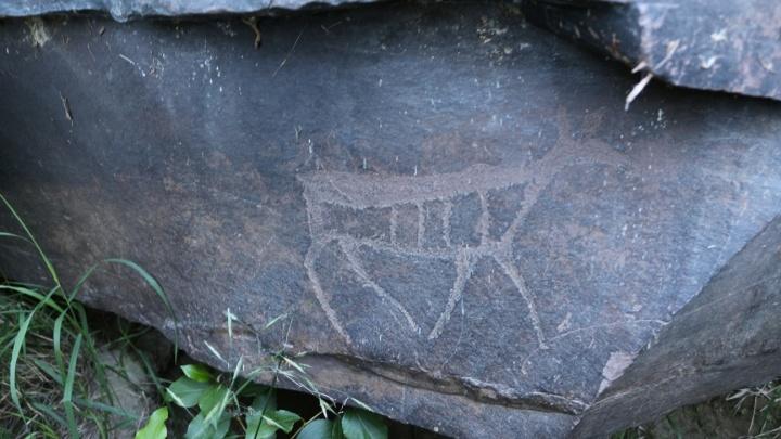 Ученые отправились изучать древние уникальные надписи на скалах у красноярской реки