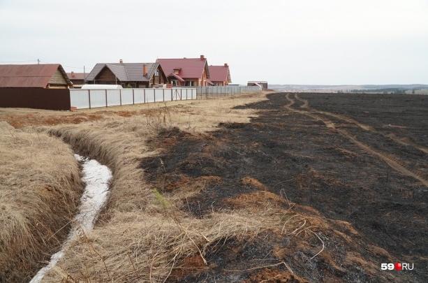 «Обстановка осложнялась ветреной погодой»: в Прикамье за сутки 85 раз выезжали тушить траву и мусор