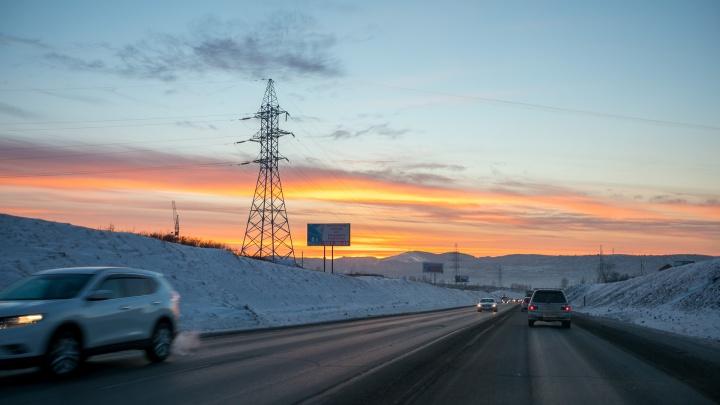 Тепло простоит в Красноярске всю неделю