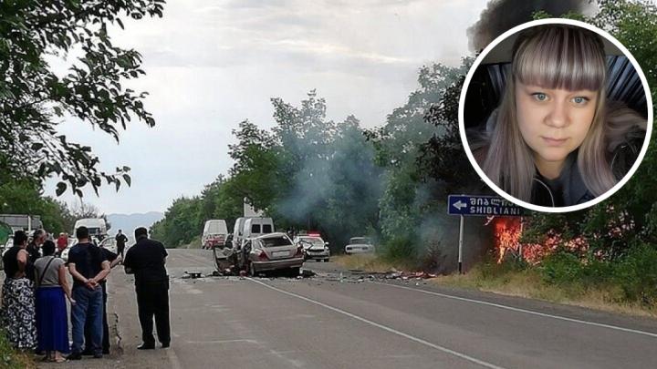 Пермячку, пострадавшую в аварии в Грузии, вертолетом перевезли в Россию