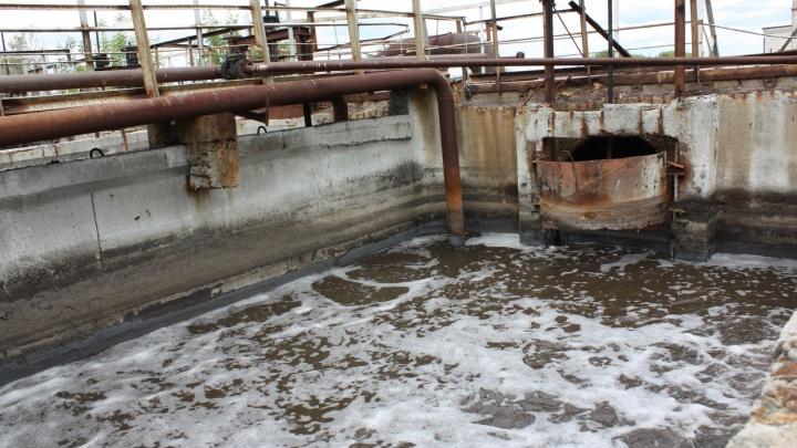 В зауральском городе Петухово по решению суда построят очистные сооружения