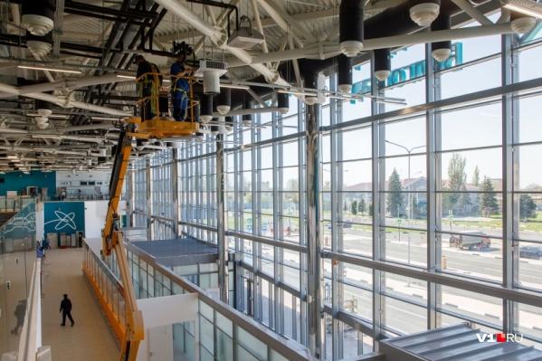 Строительство телетрапов в аэропорту Волгограда отложено еще на два года