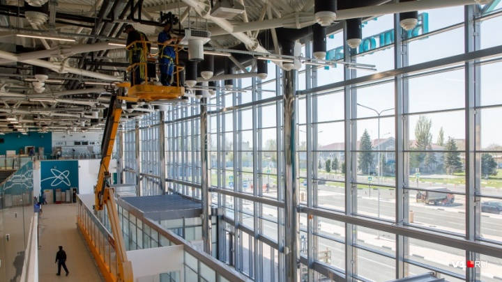 Аэропорт Волгограда вновь «пролетает» с телетрапами
