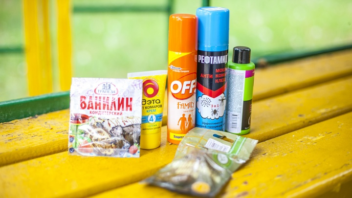 Новосибирцы выкупили горы ванилина после атак мошек и комаров