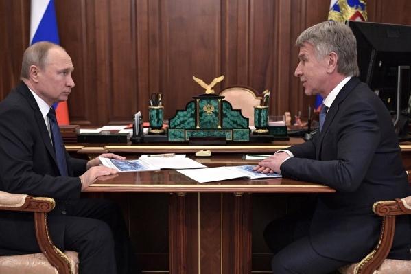 В конце февраля 2019-го Леонид Михельсон встречался с Владимиром Путиным. Он рассказал президенту о планах развития компании «НОВАТЭК»