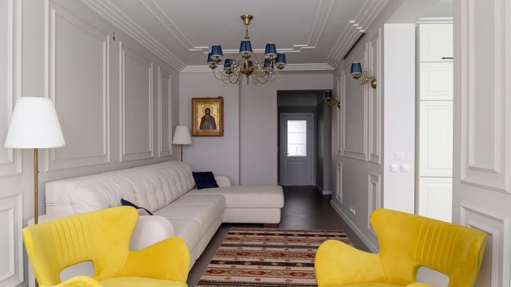 «Дизайнеры мечтают о таких гостиных»: как планировка новой квартиры сыграла на пользу интерьеру